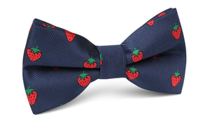 Strawberry Picking Pre-Tied Bow Tie - Adult Size