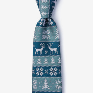 Ugly Christmas Sweater Neck Tie