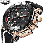 Men's luxury chronograph timepiece