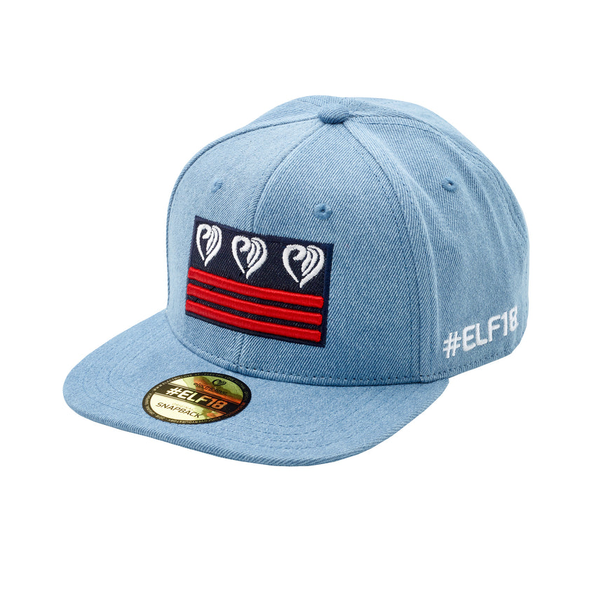 Nation Flag Snapback Jeans