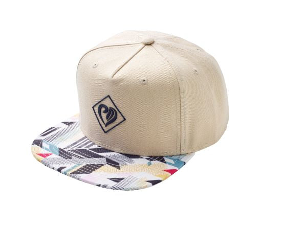 Snapback White Colourful