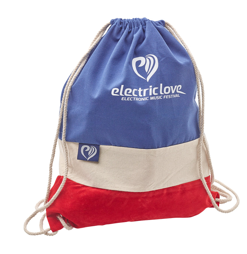 Electric Love Bag with Stripes