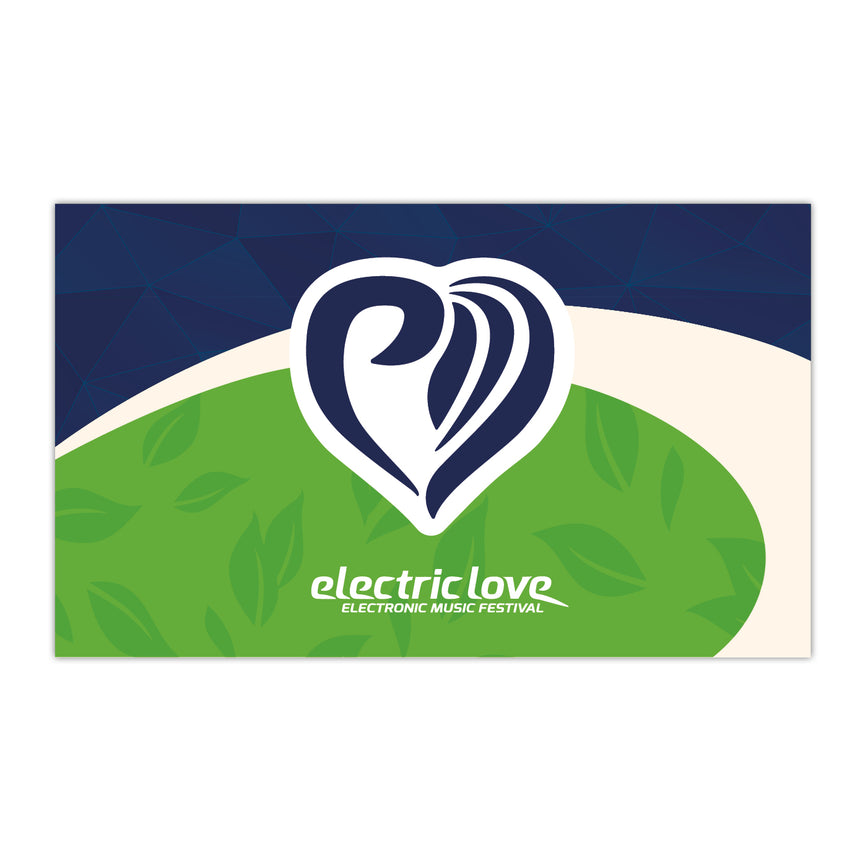 Electric Love Classic Flag