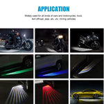 2Pcs Angel Wings Car Welcome Light - fjt-shop.store