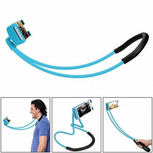 360 Degree Rotation Flexible Phone Selfie Neck Holder - fjt-shop.store
