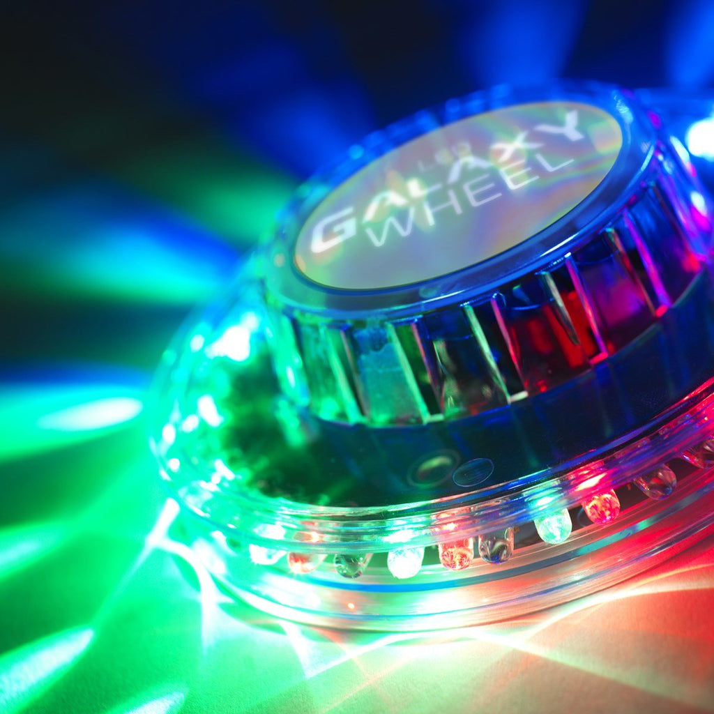 LED Galaxy Wheel - The sound-activated, 360˚ 'dancing' disco light - fjt-shop.store