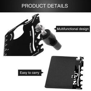 Wallet Ninja-Awsome Cardsmart Credit Card Multitool