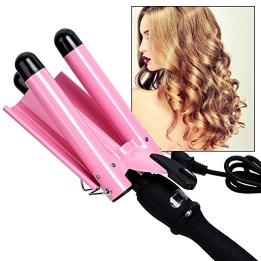 AUTO HAIR CURLER,HAIR HEATING STYLING TOOLS CERAMIC WAVE HAIR IRON - fjt-shop.store
