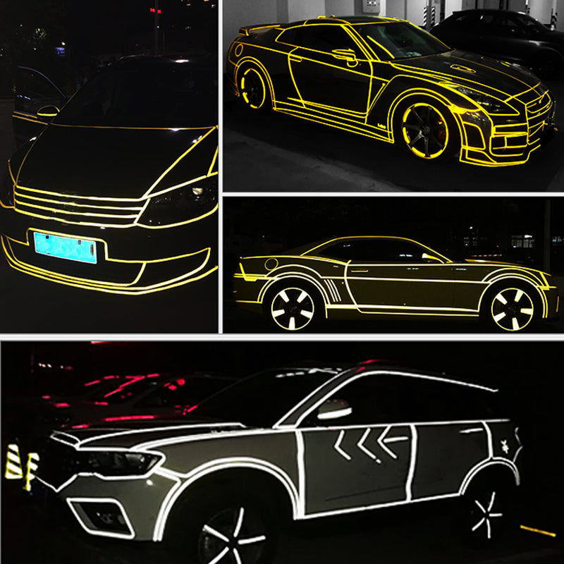 CAR LUMINOUS STICKERS - fjt-shop.store