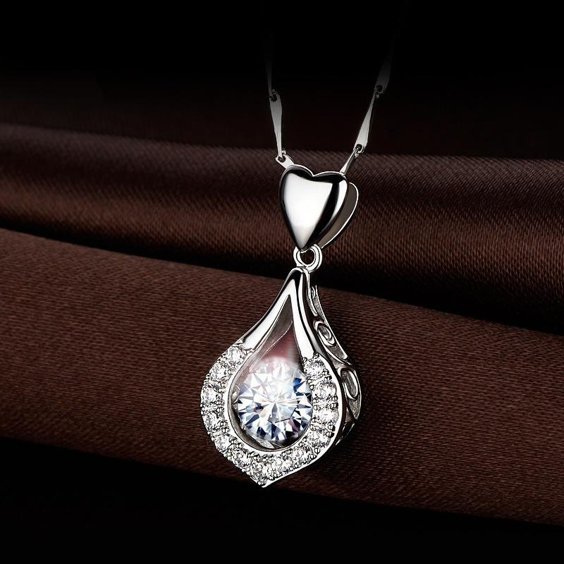 【Buy one Get one Free】Best Gift —ZZ™ Twinkling Heart Waterdrop Stone Necklace