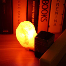 Load image into Gallery viewer, Mood Enhancer Himalayan salt lamp
