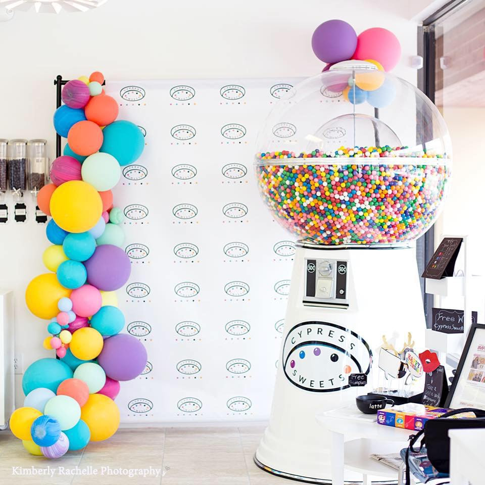 Cypress Sweets Giant Gumball Machine