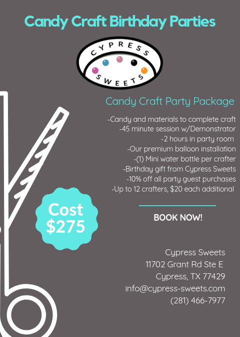 Cypress Sweets Party Package 1