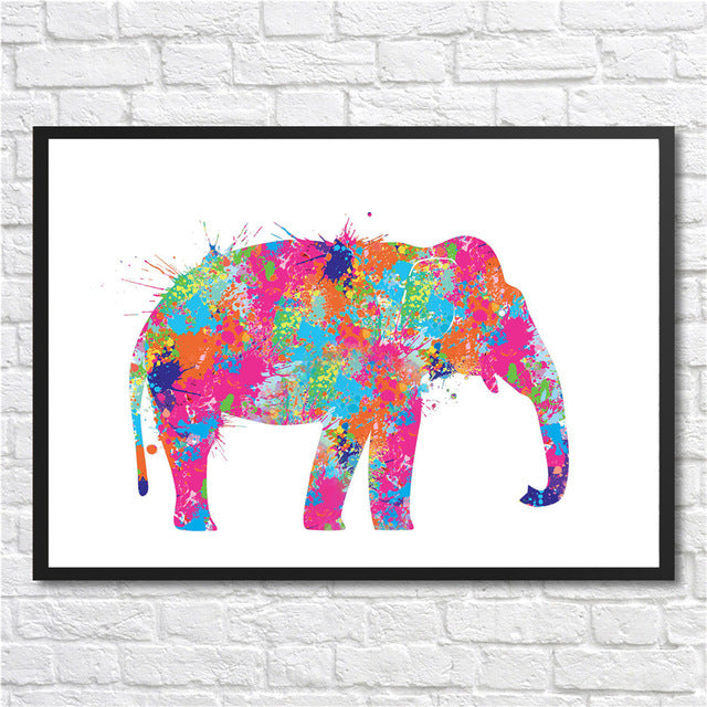 Animal Wallart Poster NO FRAME