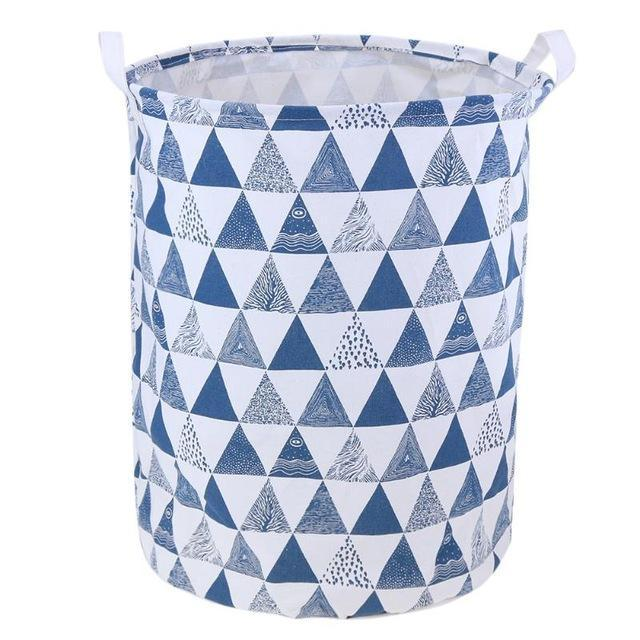 Foldable Laundry Basket Bag Bathroom Clothes Organizer Dirty Clothes Washing Basket Home Sundries Storage 40X50cm
