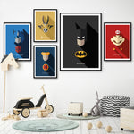 Super Hero Wall Art Canvas NO FRAME