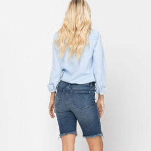 High Rise Cutoff Bermuda Judy Blue Shorts