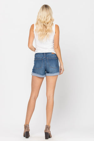 Cuffed Judy Blue Shorts