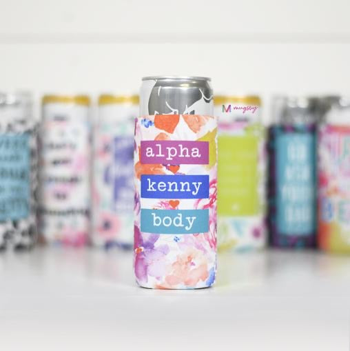 Alpha Kenny Body Slim Can Cooler