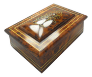Chinese temple thuya wooden box-moroccocraft2b