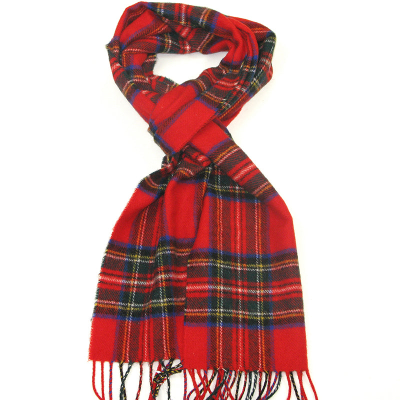 PK-Lambswool Scarf - Royal Stewart
