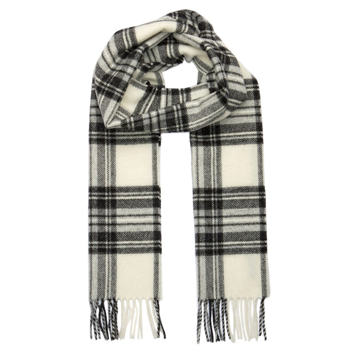 PK-Lambswool Scarf - Stewart Grey Dress