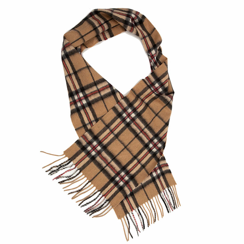 PK-Lambswool Scarf - Thompson Camel