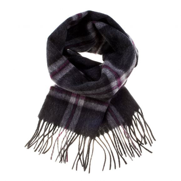PK-Lambswool Scarf - Thompson Charcoal