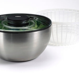 OXO Stainless Steel Salad Spinner