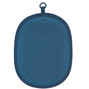 OXO Silicone Pot Holder Blue