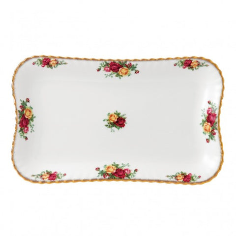 "Old Country Roses Tray 13"" $63.00"