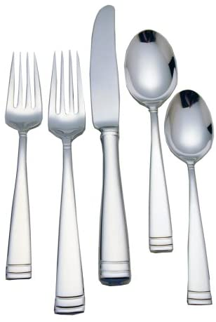 .Waterford Conover Flatware Set 65 Piece 18/10