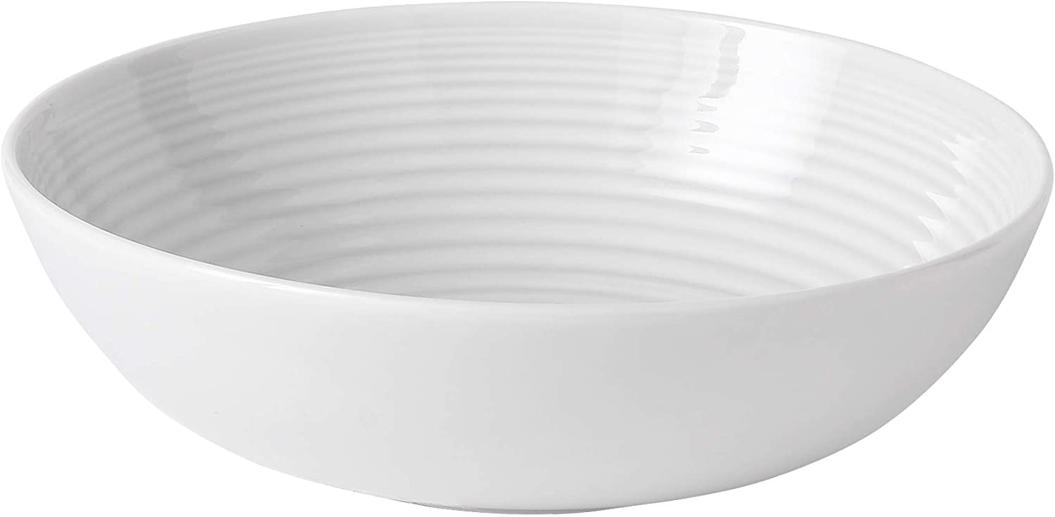 Royal Doulton Gordon Ramsay Maze White Pasta Bowl 24 oz
