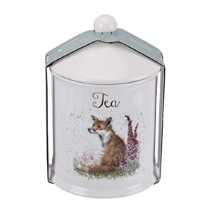 "Wrendale Canister Tea 5.75"" Fox"