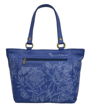 Anuschka Garden Of Delight Leather Handbag