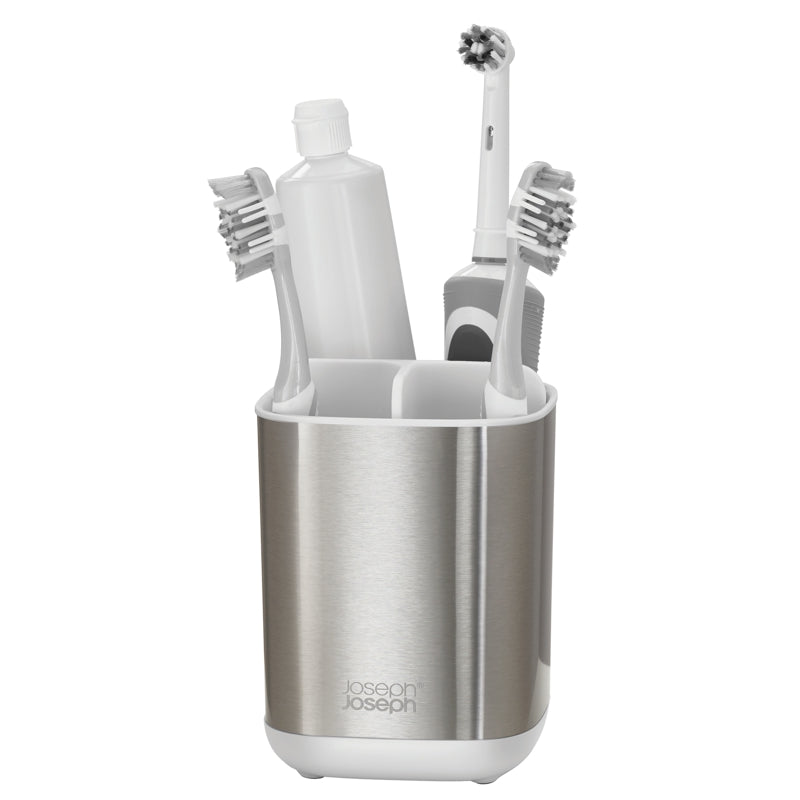 Joseph Joseph EasyStore™ Steel Toothbrush Caddy
