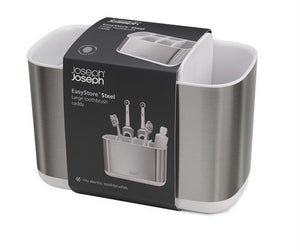 Joseph Joseph EasyStore™ Steel Large Toothbrush Caddy