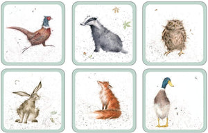 Wrendale Pimpernel Coasters set of 6