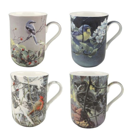 Robert Bateman Birds Set of 4 Mugs $49.99