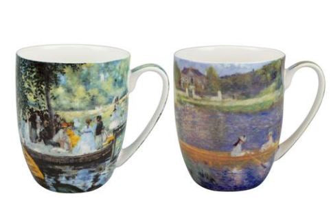 Renoir Boating Mug Pair $28.50