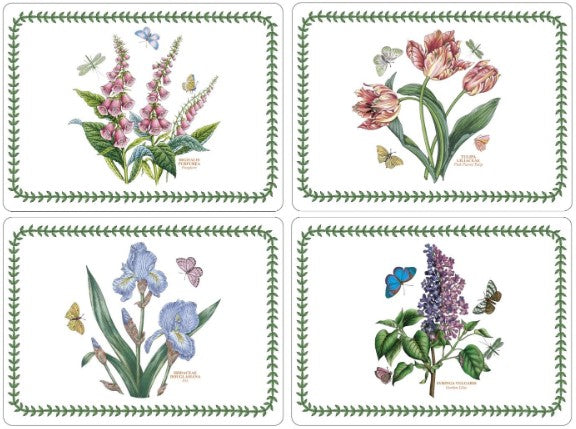 PIMPERNEL PLACEMATS SET OF 6 LUNCHEON BOTANIC GARDEN