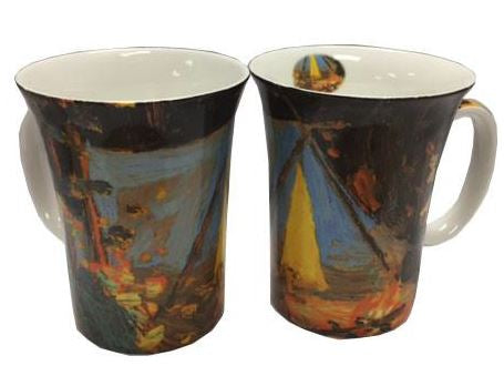 Tom Thomson Campfire Mug Pair $28.50