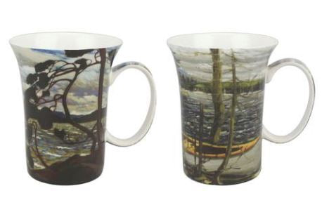 Tom Thompson Canoe West Wind Mug Pair