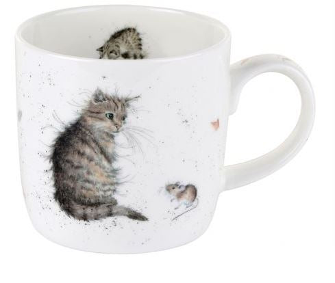 ...Wrendale Mug - Cat and Mouse