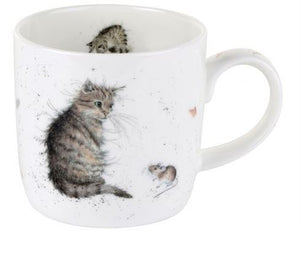 Wrendale Mug Cat and Mouse