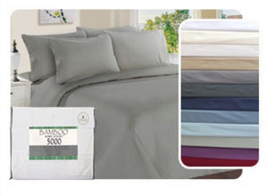 5000 Solid Sheet Set 6 Pieces Double