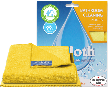 E-Cloth Bathroom Cleaning Cloth Set of 2 $24.99