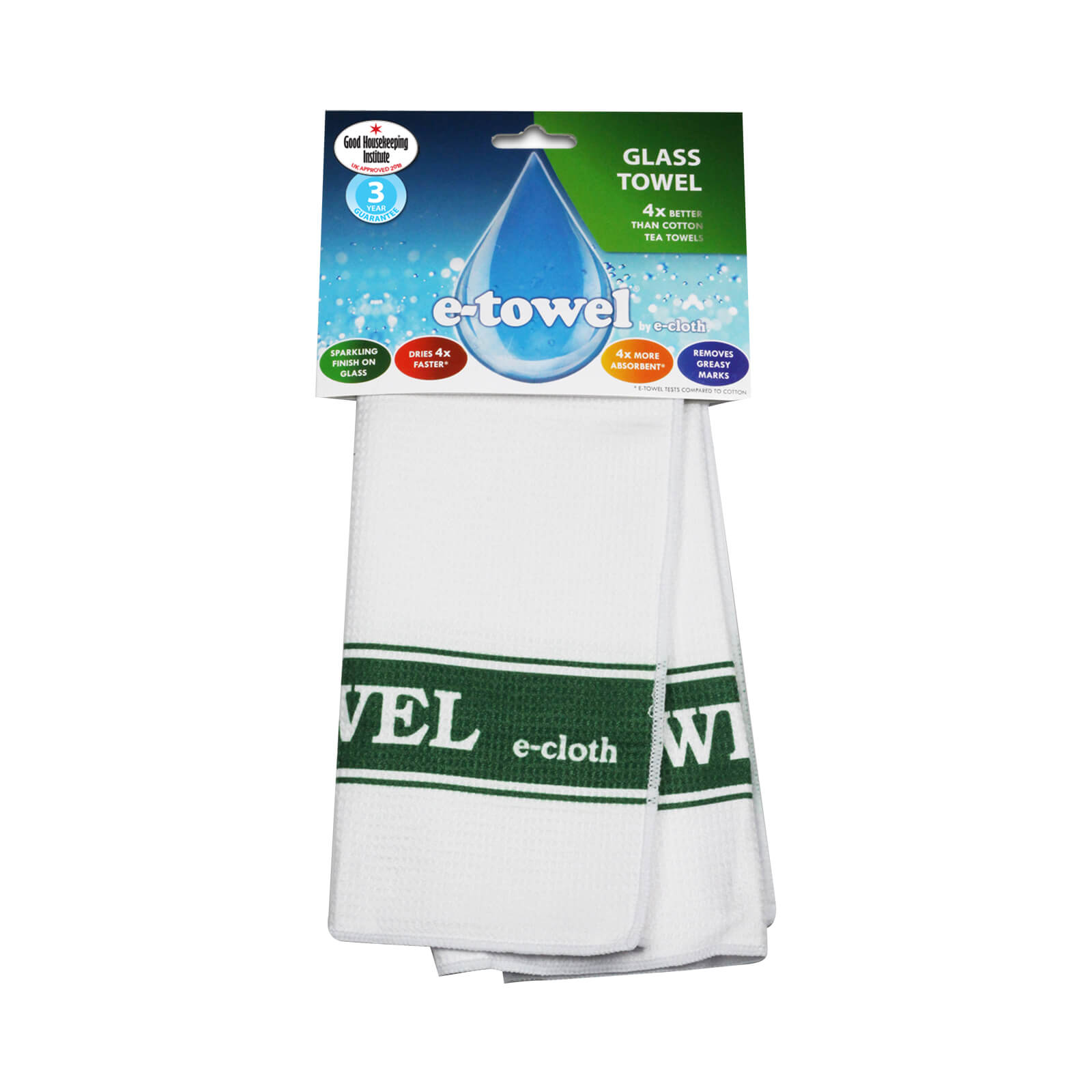 E-Cloth Glassware Drying & Polishing Towel $19.99