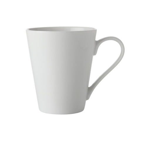 NEW WHITE BASICS CONICAL MUG 300ML