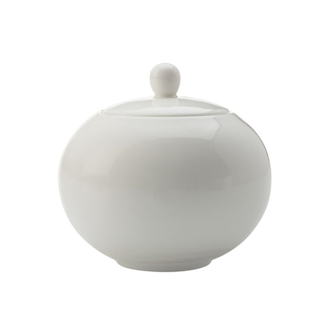 NEW WHITE BASICS SUGAR BOWL WHITE